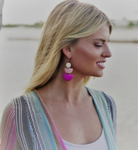 Divina Earrings {pinks}