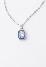 Lila White & Silver Necklace - Global Hues Market