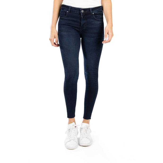 Connie Fab Ab High Rise Skinny {Personally w/Euro Base Wash} - Global Hues Market