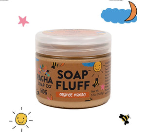 Soap Fluff {orange mango} - Global Hues Market