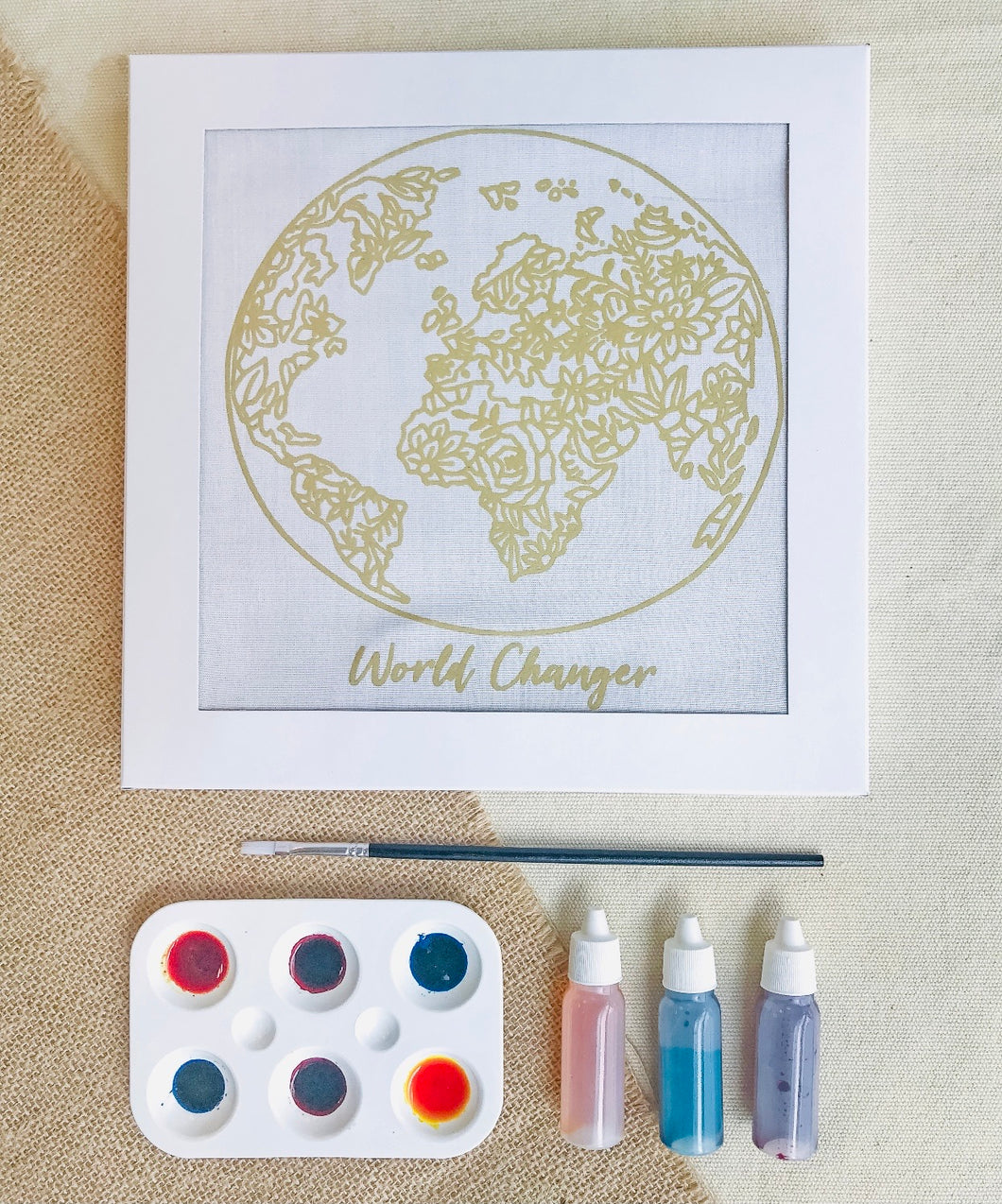 DIY Batik Watercolor Kit {world changer} - Global Hues Market