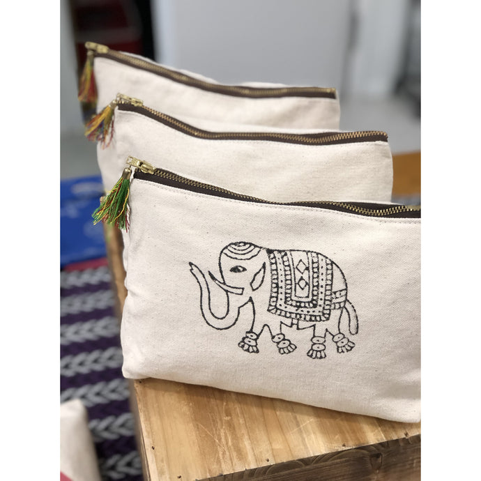 Elephant of India Pouch - Global Hues Market