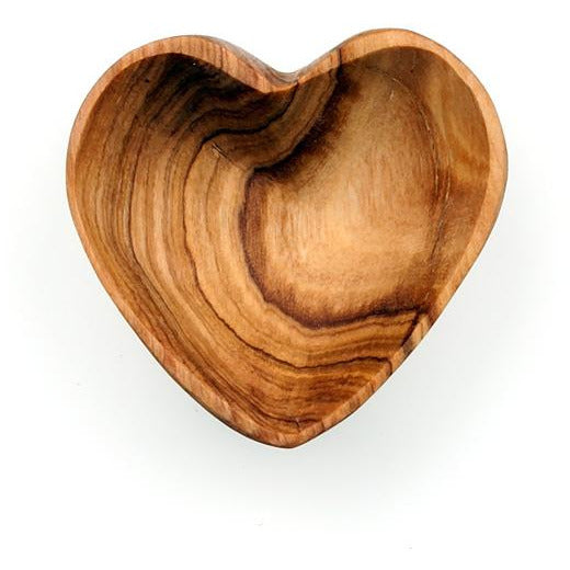 Olive Wood Mini Heart Bowl - Global Hues Market
