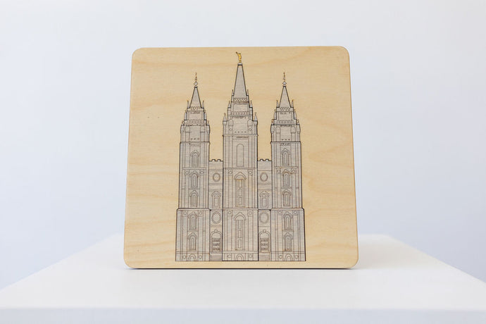 SALT LAKE CITY TEMPLE PUZZLE