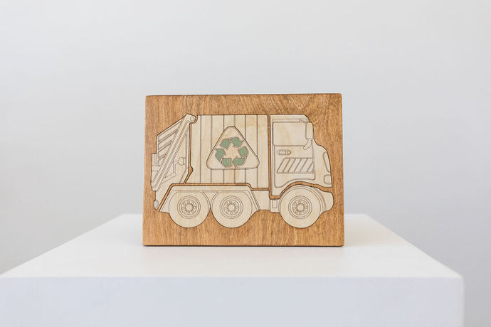 GARBAGE TRUCK PUZZLE