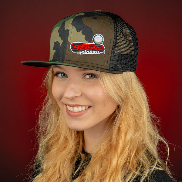"New Era ""9Fifty"" Camo Snapback Trucker Cap"