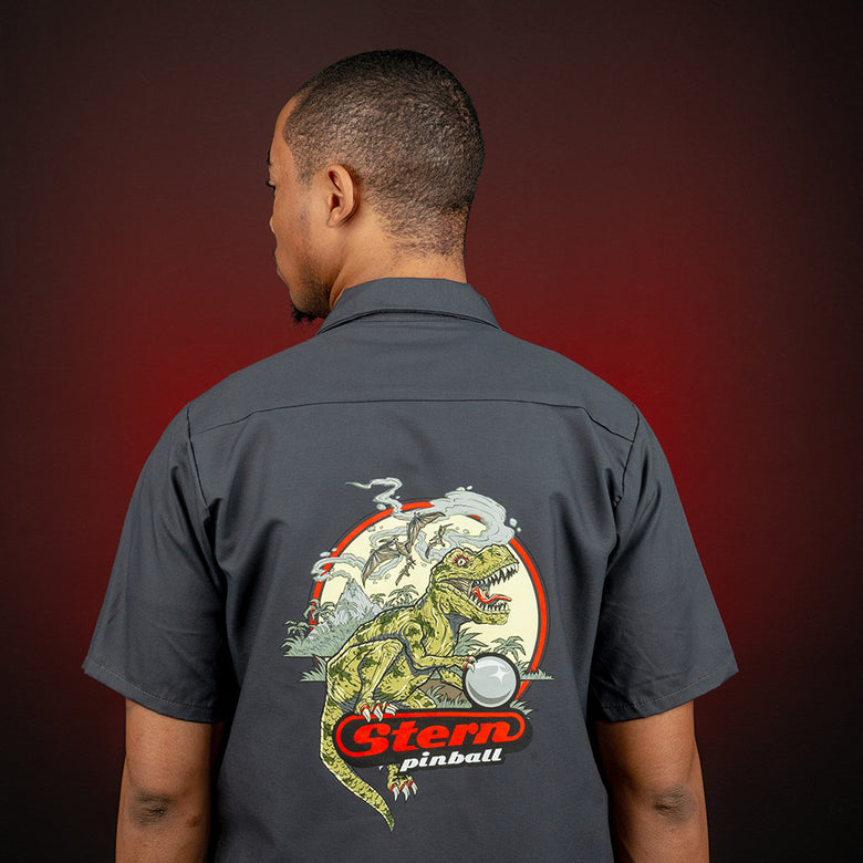 "Limited Edition ""T-Rex of the Silver Ball"" Work Shirt"