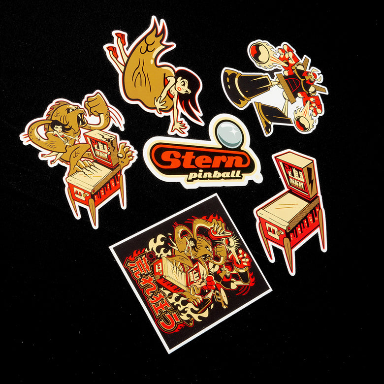 """Rampage"" Collectible Sticker Pack"