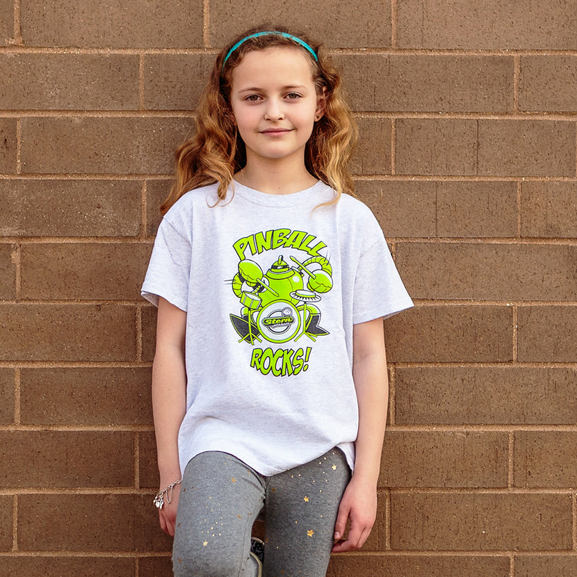 """Pinball Rocks"" Kids Tee"
