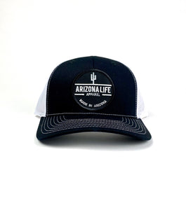 Arizona Life Trucker Hat (B&W)