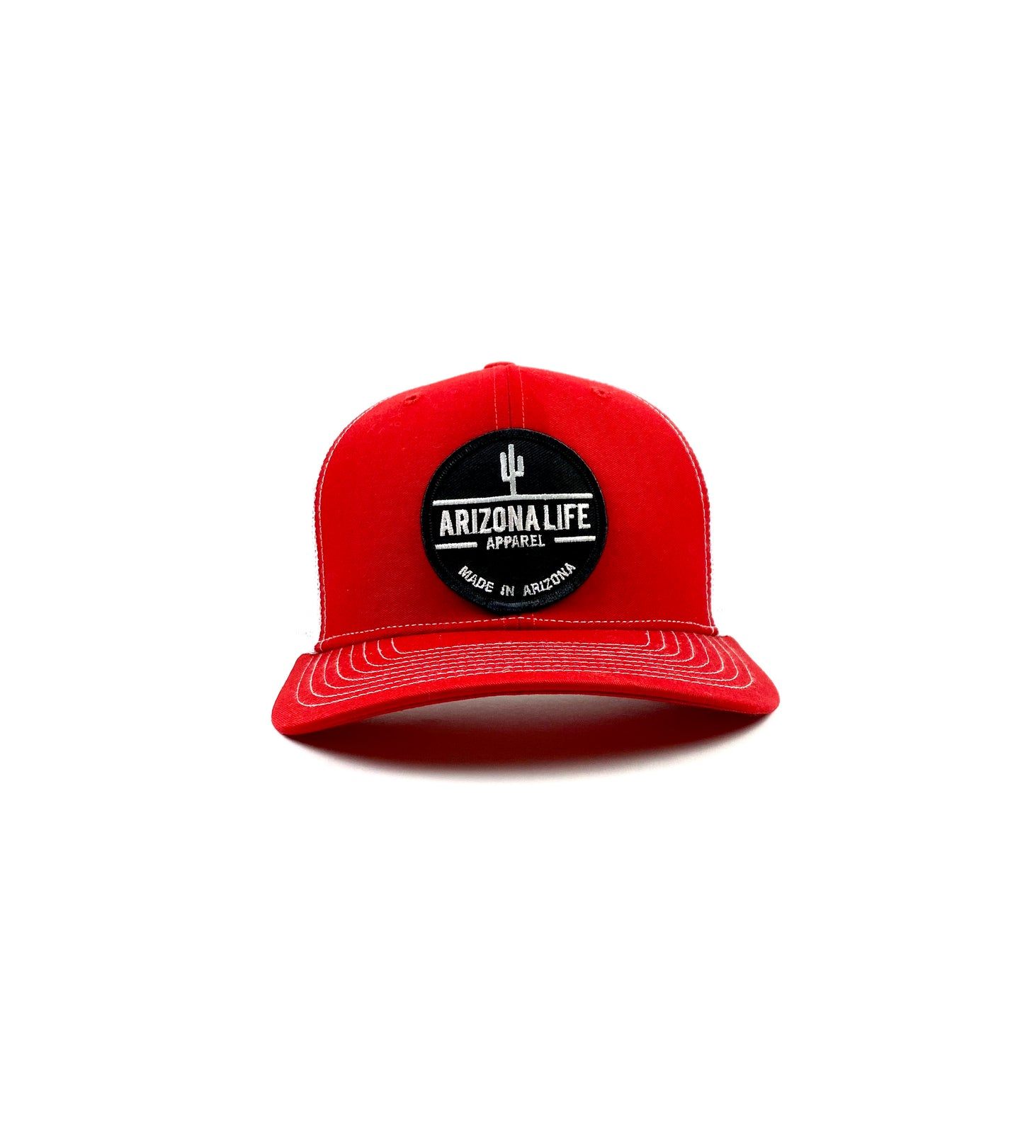 Arizona Life Hat Snapback (Red/White)