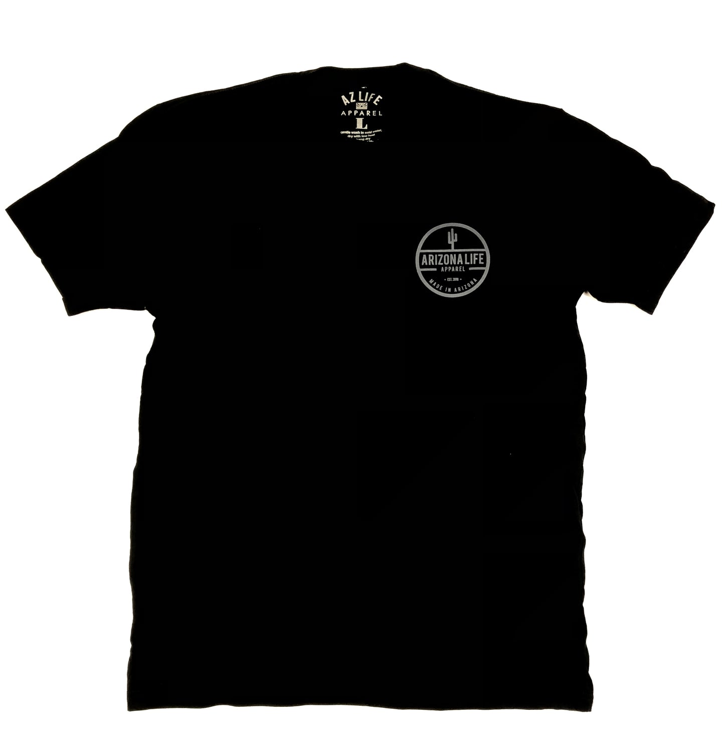 The Arizona Life Tee (black / gray)