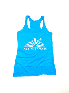 AZ Life Mountains Womens Tank (blue)