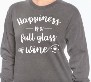 Happiness is... Wine
