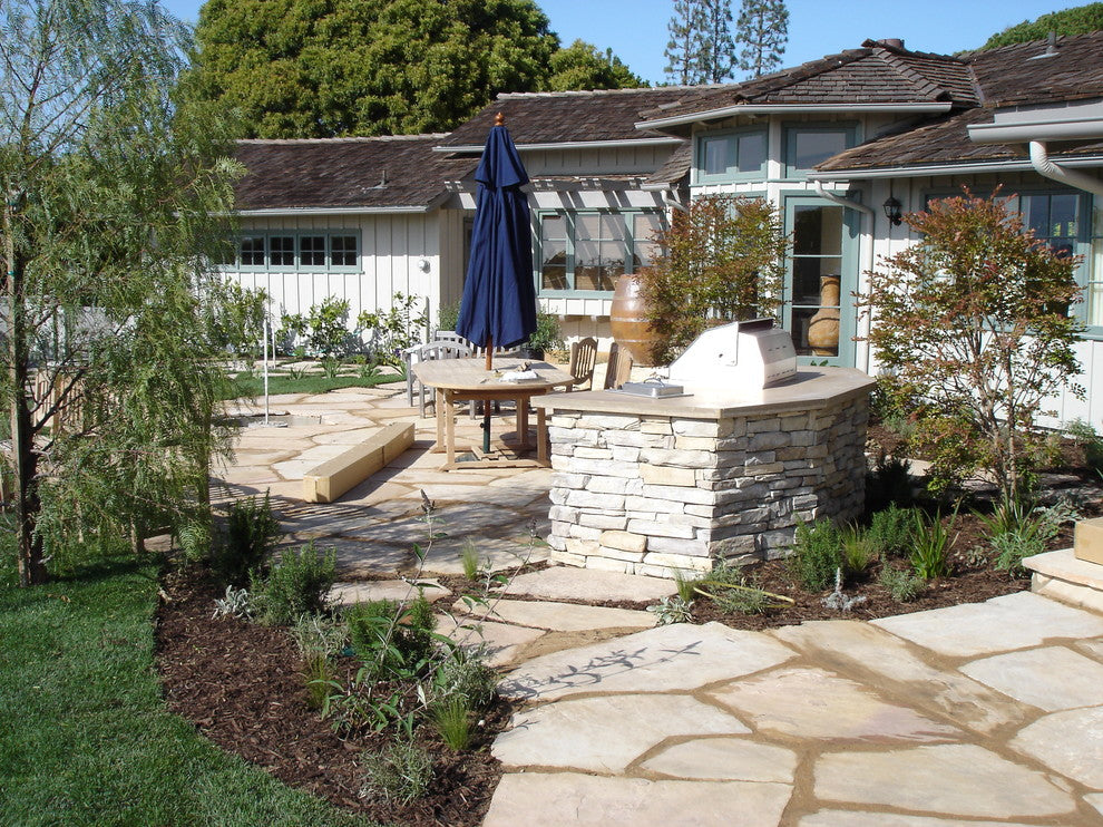 Cottage Flagstone Haven