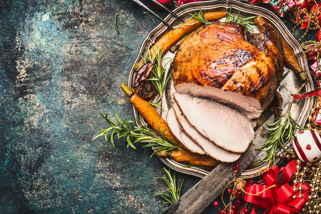 Wine Smoked Turkey – Thanksgiving on the Grill