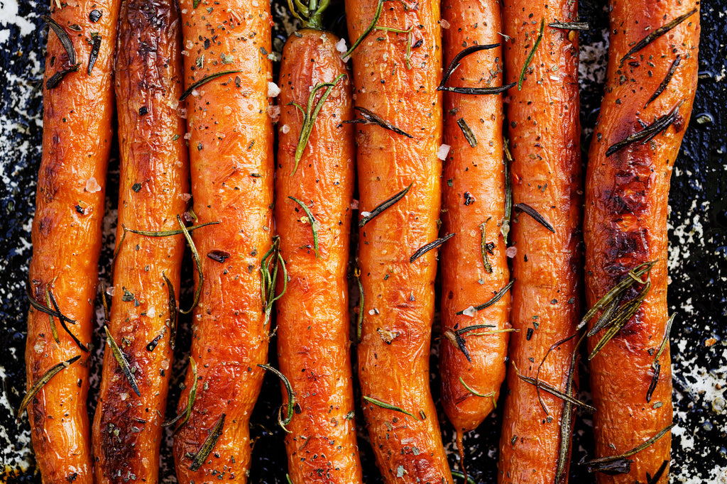 Barbecue Carrots with Yogurt and Pecans – Autumn Grilling Series