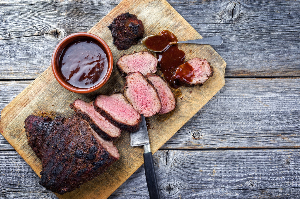 Cajun Steak with Apricot-Orange Glaze – Memorial Day is Grilling Day!