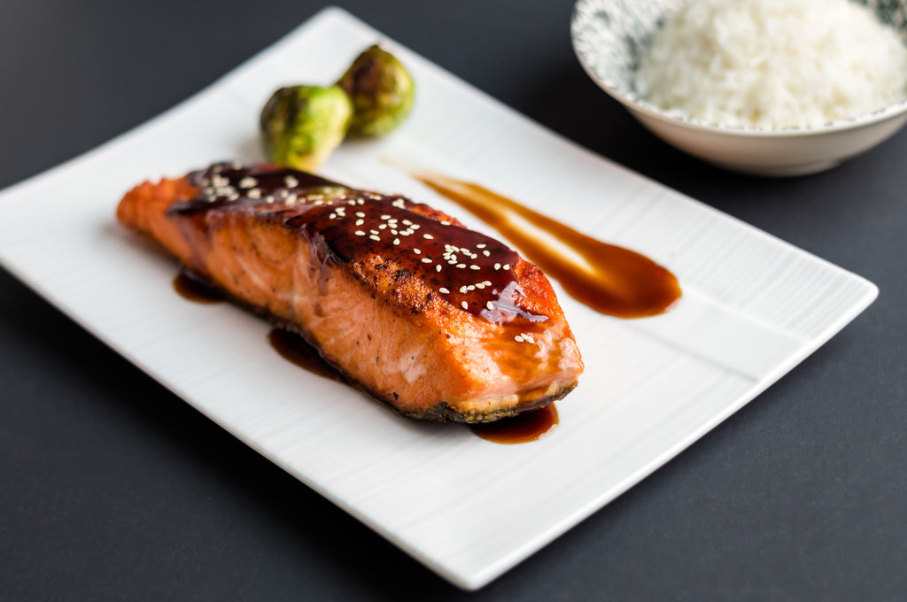 Caramelized Asian BBQ Salmon – Valentine's Day Grilling Series