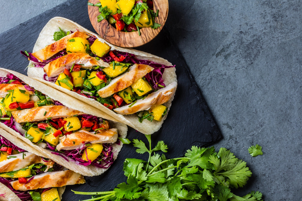 Chili-Lime Chicken Tacos with Grilled Pineapple Salsa – Terrific Grilled Taco Series