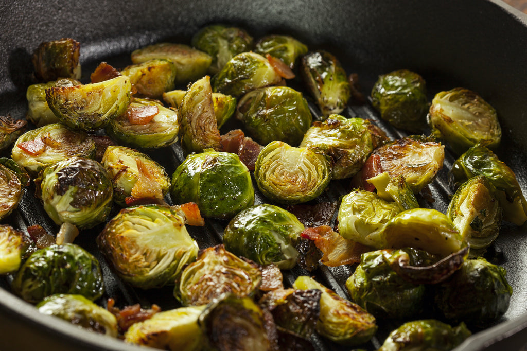 Grilled Brussels Sprouts with Bacon – Autumn Grilling Series