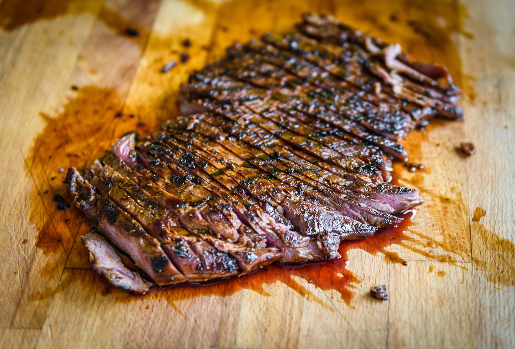 St. Patrick's Day Grilled Irish Flank Steaks