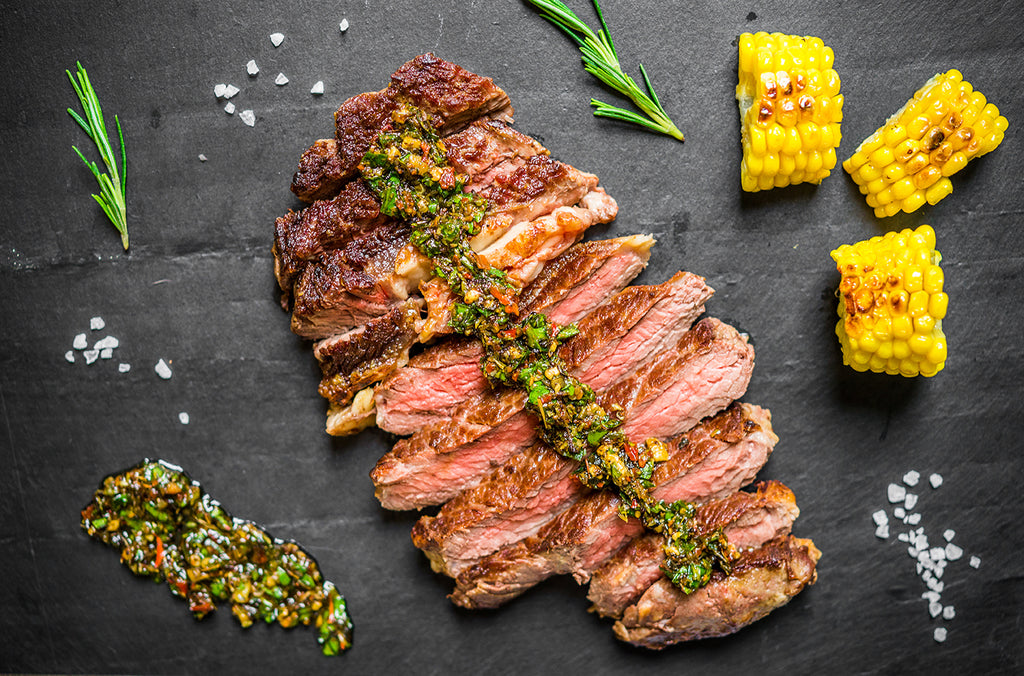 Grilled Rib Eye with Shishito Pepper Salsa – Memorial Day is Grilling Day