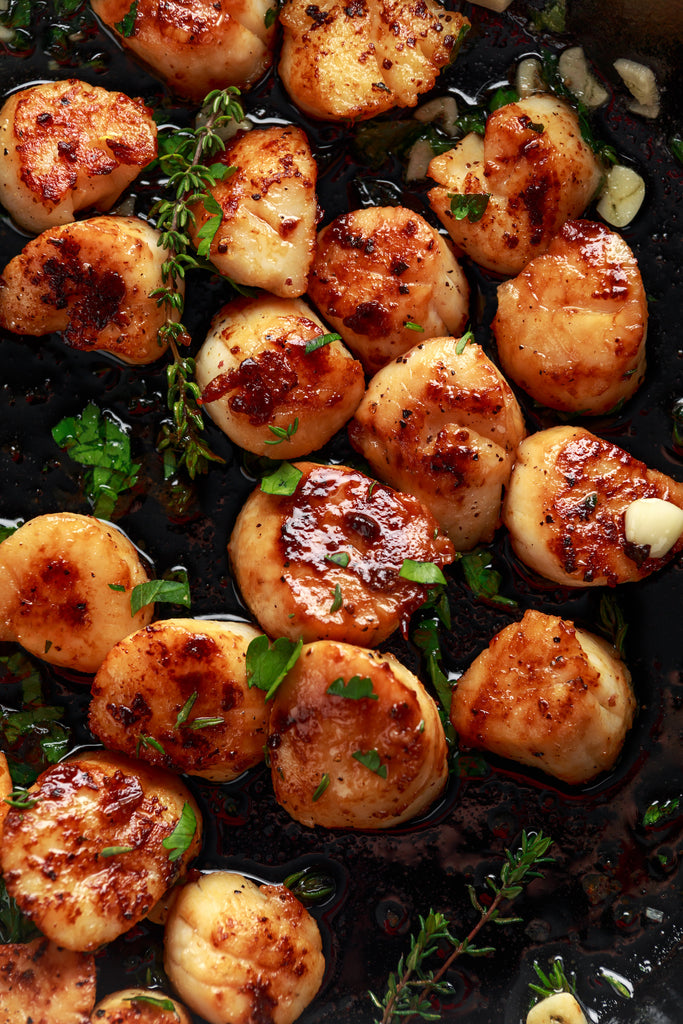 Grilled Scallops with Nori, Ginger, and Lime – Super Bowl Grilling Series