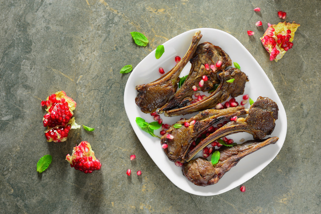 Pomegranate-Glazed Lamb Chops – Warm Winter Grilling Series