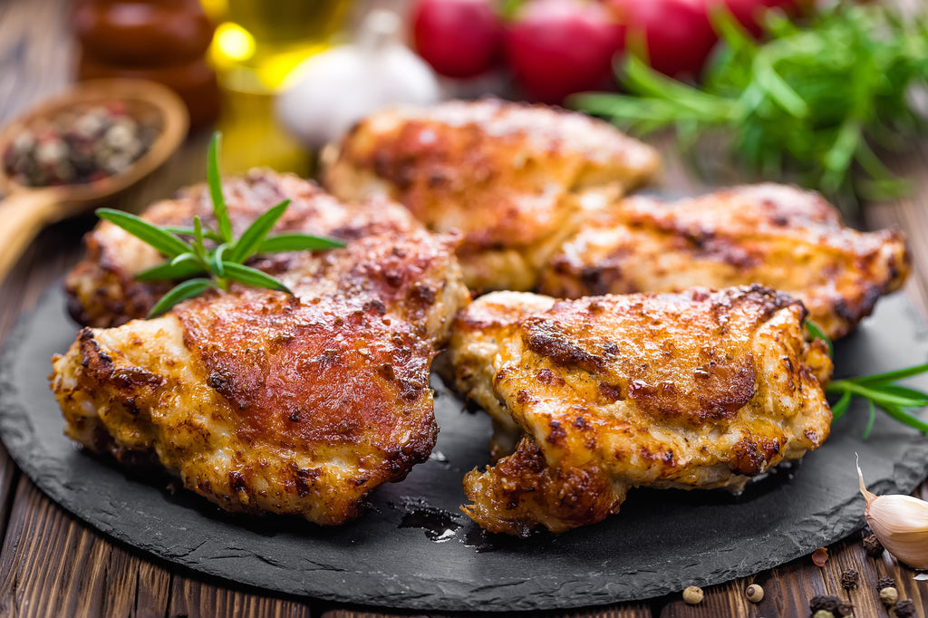 Rosemary Grilled Chicken Thighs – Autumn Grilling Series