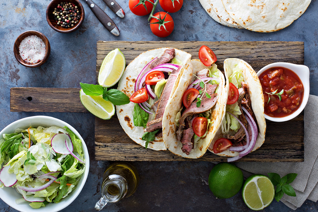 Skirt Steak Fajitas with Grilled Cabbage and Scallions – Memorial Day is Grilling Day