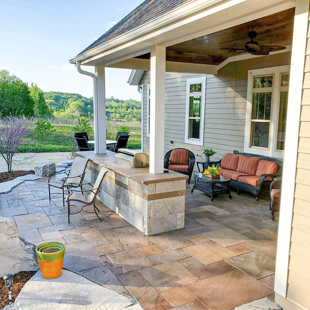 Sophisticated & Rustic, Timeless Terraces, Serene Gardens, Open-Air Panoramas, Stone Retreat Outside Milwaukee