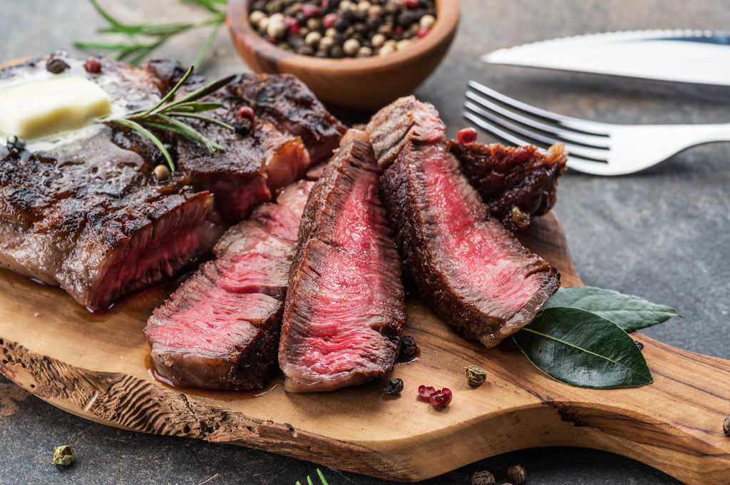 Spice-Rubbed Steaks with Herb Butter – Valentine's Day Grilling Series