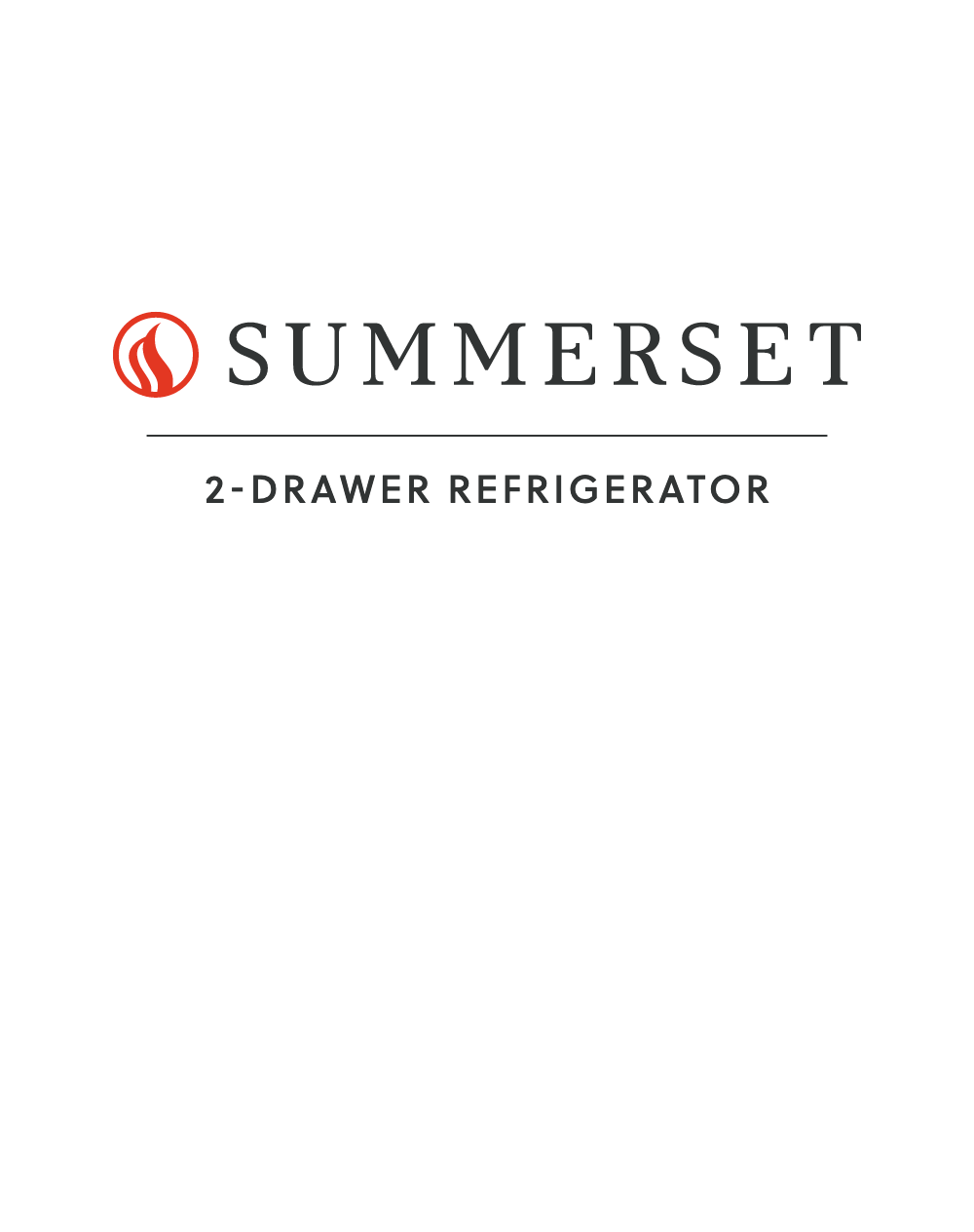 2 Drawer Refrigerator Manual