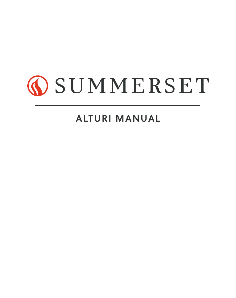 Alturi Owners Manual