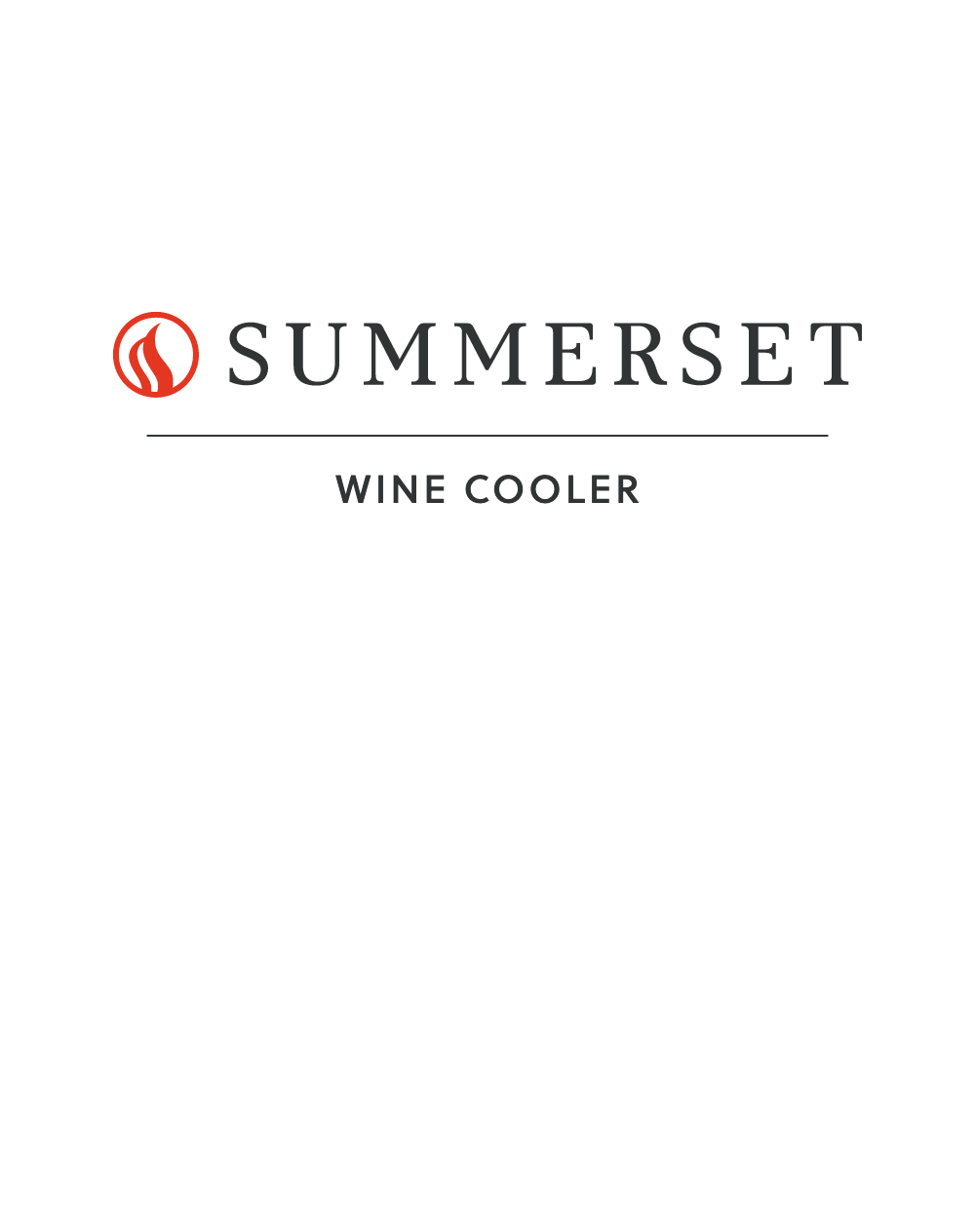 Wine Cooler Manual