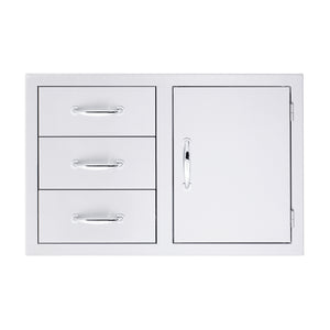 "33"" 3-Drawer & Access Door Combo"