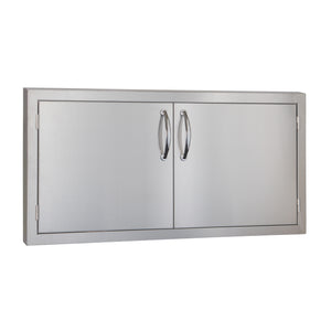 "45"" North American Stainless Steel Double Access Door w/ Masonry Frame Return"