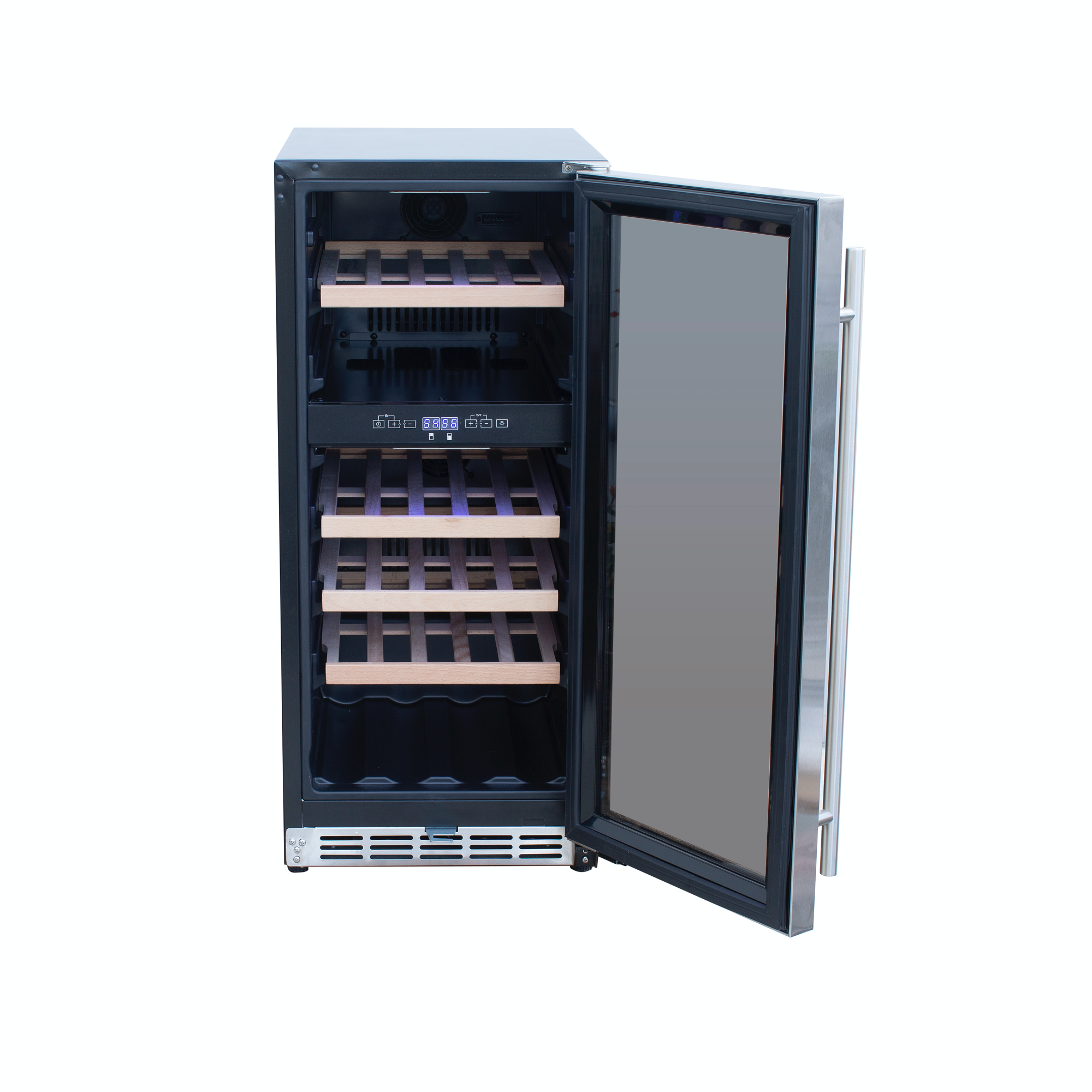 "15"" Outdoor Rated Dual Zone Wine Cooler"
