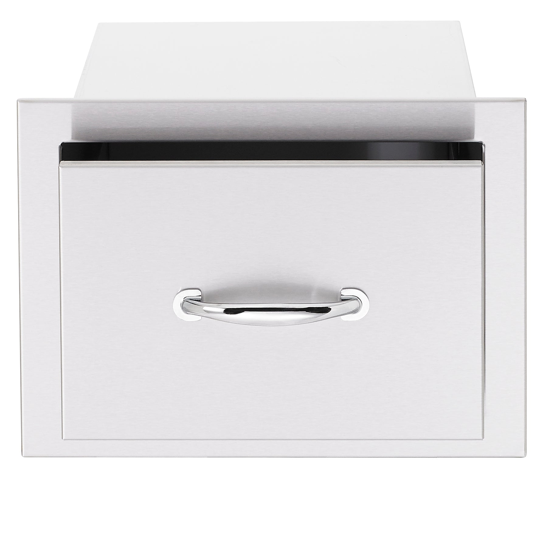 "17"" North American Stainless Steel Single Drawer"