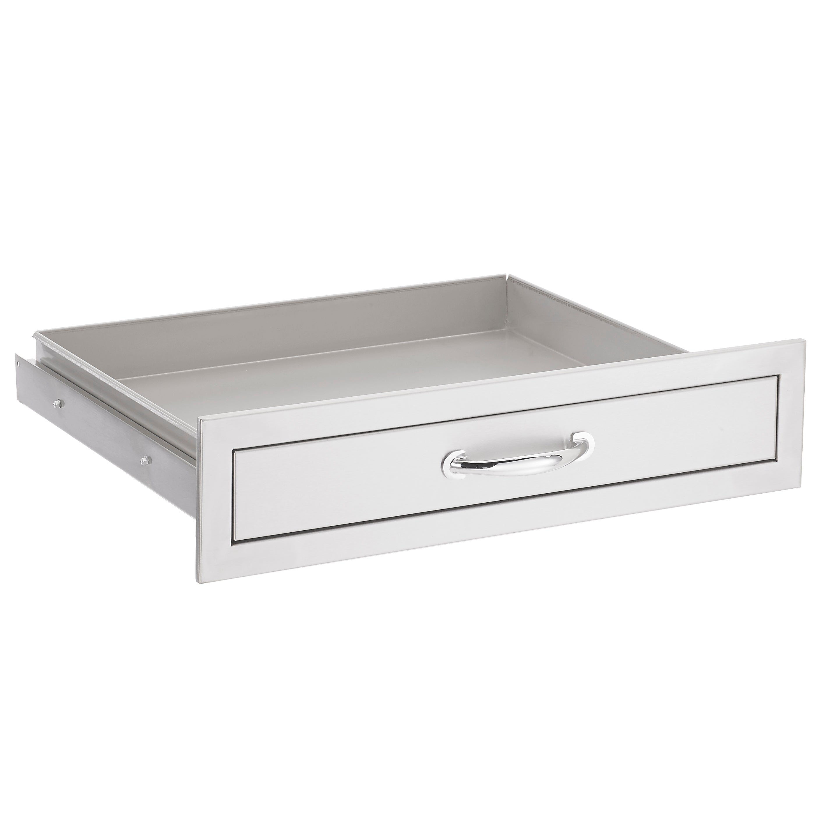 "26"" North American Stainless Steel Utensil Drawer"