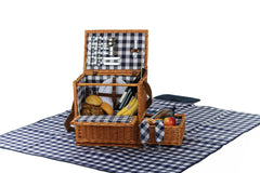 Oak & Olive Saratoga 2 Person Picnic Basket