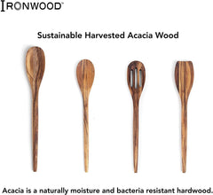 "Ironwood Wilmington Spoonula/Turner - 12"" (Acacia)"
