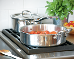 Heritage Steel 4 Qt Sauteuse with Lid