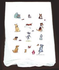 Flour Sack Towel New Dogs