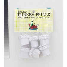 Turkey Frills Pack of 6