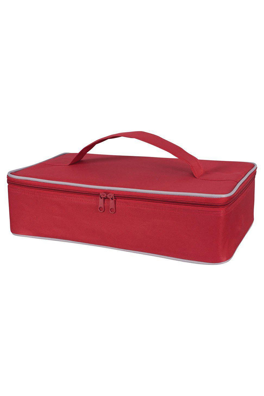 Casserole Carrier Insulated Red