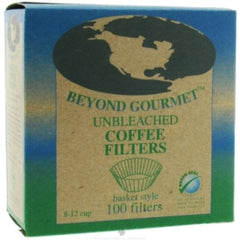 Unbleached Basket Filters