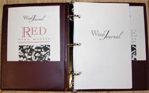 Wine Journals 3 Ring