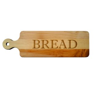 Handled Bread Board Maple Leaf